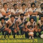 Taubaté 1979 Campeão da Divisão Intermediária Paulista