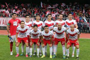 O elenco do Deportes Valdivia, campeão da terceira divisão chilena [foto: Carlos Parra/ANFP]